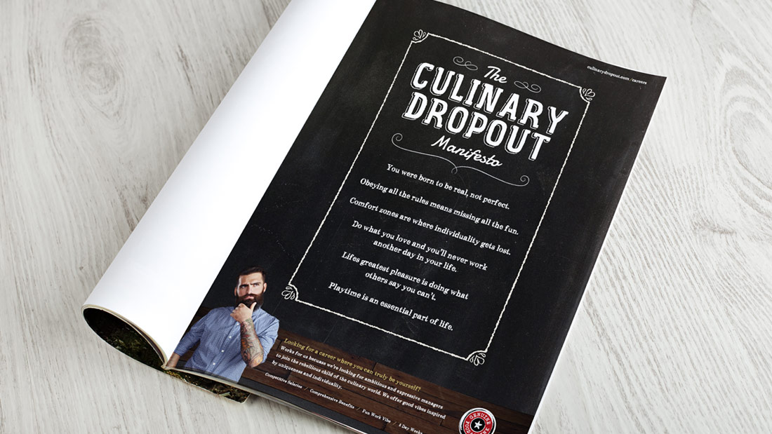 Culinary Dropout Branding